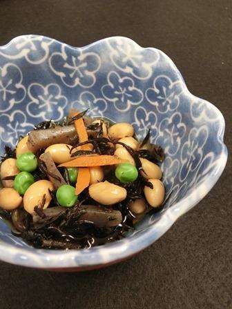 ⑧「大豆とひじきの煮物」.JPG