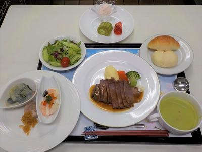 洋食ディナー料理.JPG